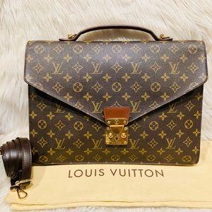 Authentic Louis Vuitton Serviette Briefcase #1.6p